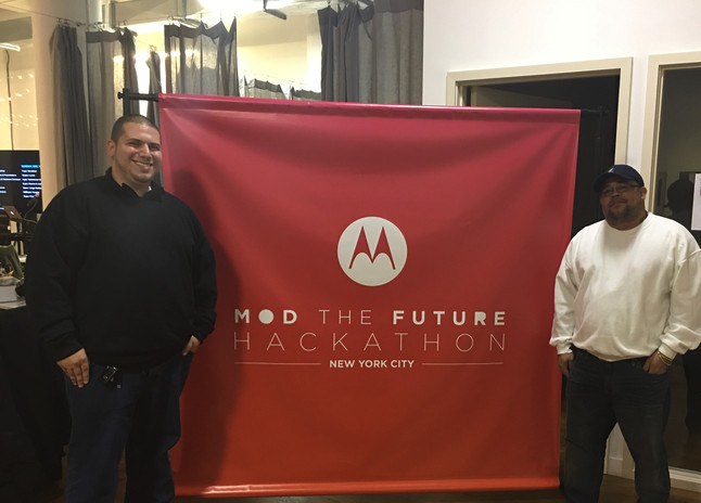Anthony Delgado hacking the Medical Industry with Motorola